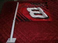 WINNERS CIRCLE DALE EARNHARDT JR CAR WINDOW  FLAG