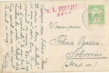 Romania Sep.1919 FELTOT pmk BRIEFZENSUR ARAD Censor Hungary