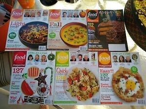 2011 2012 Food Network Magazines magazines    Holiday issues