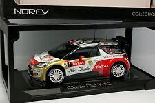 Norev 1/18 - Citroen DS3 WRC Rallye Monte Carlo N°1 Loeb 2013