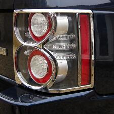 Chrome Feu Arrière Lampe Couvre Enjoliveurs Pour Range Rover L322 Vogue 2010 Accessoires