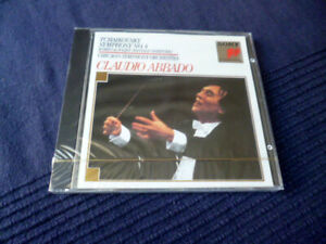 CD Tchaikowsky No.4 + Rome & Juliet Overture Claudio Abbado Sony SEALED CSO