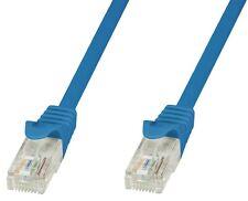 Techly Professional Cavo di rete Patch in CCA Cat.6 Blu UTP 20m