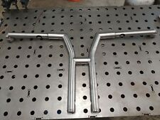 "14"" harley davidson riserless Y design clubstyle bars dyna fxr handlebars"