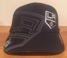 70b01735bd19f adidas Los Angeles Kings Hat Cap NHL Pro Big Logo Flex Fit L xl Reflective