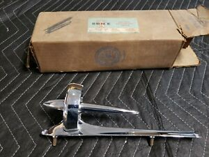 NOS 1950 Buick Hood Ornament Super Roadmaster Special Deluxe Chrome Trim