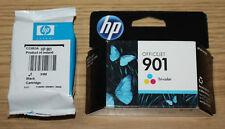 Original HP Officejet 901 schwarz CC653A & Tri-Color CC656AN Tintenpatrone, Abgelaufen