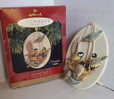 Honored Guests Natures Sketchbook Hallmark Christmas Ornament 1997 Marjolein  ba