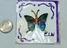 Brooch New Butterfly Colorful