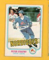 0283  1981-82 O-Pee-Chee #269 Peter Stastny ROOKIE CARD BK$20