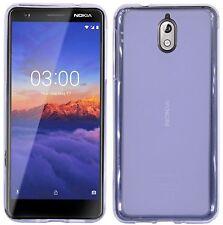 Silikon hülle Handyschale Schutzhülle Tasche Bumper Frosted für Nokia 3.1 (2018)