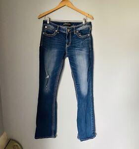 Express Jeans Women's Stella Boot Leg Denim Pants Size 10 R
