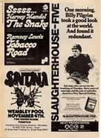 Santana Wembley Pool Stadium concert advert Time Out cutting 1972