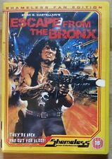 ESCAPE FROM THE BRONX: DVD PAL R0 UNCUT Post Apocalypse Enzo G. Castellari Rare!