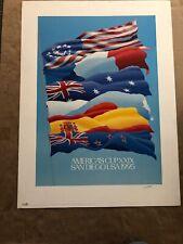 Keith Reynolds - America's Cup XXIX San Diego USA 1995 - SIGNED PRINT
