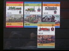 NEVIS '1985 * MH 279/286 YT 5,00 EUR RAILWAYS,CHEMIN DE FER,TRAINS,LOCOMOTIVES
