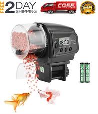 New listing Alimentador de peces de acuario automático con temporizador para peces +baterías
