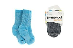 Smartwool 251628 Kids Hike Medium Crew Socks Set Of 2 Multi Size Small