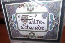 """Design Works Welcome Friends Failte a Chairde Counted Cross Stitch Kit 10 x 13"""""""