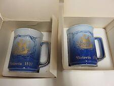 B&G 1980 First Edition Victoria 1520 Ship Porcelain Mug Bing & Grondahl