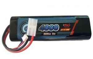 Rechargeable Battery 7.4V 4000mAh  LiPo Pack Vapextech Rounded Hard case Tamiya