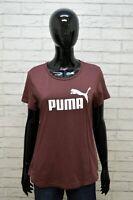 Maglia PUMA Donna Taglia 44 M Maglietta Shirt Woman Manica Corta Cotone Hemd