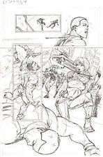 G.I. Joe #11 pg 18 ORIGINAL Pencil Art Steve Kurth SCARLETT