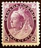 Canada #76 2c Purple 1898 Queen Victoria VF *MLH*