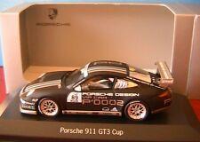 PORSCHE 911 997 GT3 CUP #89 SUPERCUP VIP CAR P'0002 2007 MINICHAMPS 1/43 DESIGN