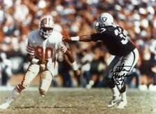 1- LESTER HAYES OAKLAND RAIDERS--JERRY RICE 49ERS 8X10 REPRINT AUTO PHOTO
