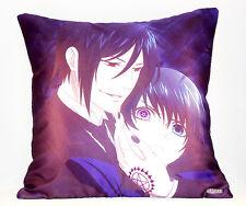 Kuroshitsuji satin pillow/cushion* 40x40 cm Black Butler Pillow *UK Stock* NEW !