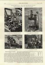 1914 Archdale Radial Drilling Machine Armour Plate Grinder