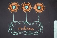 Melvins XL Skull Flower black shirt