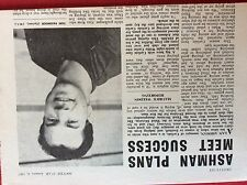 m2t ephemera 1967 football article tom passmoor carlisle