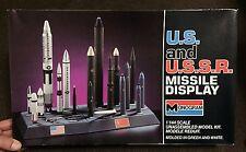 US & USSR MISSILE DISPLAY  1/144   MONOGRAM   MODEL KIT  U.S. & U.S.S.R.