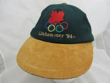 Olympics Canada Lillehammer 1994 baseball cap hat adjustable