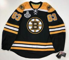 BRAD MARCHAND BOSTON BRUINS 2011 STANLEY CUP EDGE AUTHENTIC RBK JERSEY 54