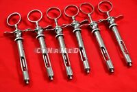 6 German Dental Anesthetic Syringe Self-Aspirating 1.8CC-Dental Instruments-A+