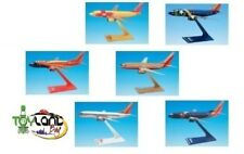 Southwest Airlines SWA Set of Six Special Livery Boeing 737 Display Models