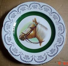 Wood And Sons Ascot Service Plate Decorative Wall Plate Palomino Horse Head