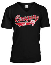 Cougar Bait Sexual Sex Sexy Hot Mom Milf Funny  Mens V-neck T-shirt