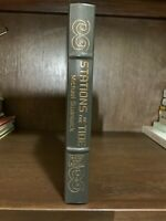 STATION OF THE TIDE - MICHAEL STANWICK- SIGNED FIRST EDITION- EASTON PRESS