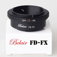 Belair Adapter for Canon FD Lens to Fujifilm X-Pro1 X-E1 Camera Mount FD-FX