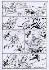BRENDAN McCARTHY Dr. Fate #17 p9 ORIGINAL COMIC ART