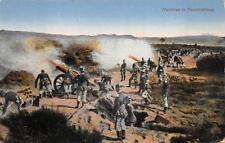HAUBITZE FEUERSTELLUNG SOLDIER GUNS GERMANY MILITARY FELDPOST POSTCARD 1918 (69)