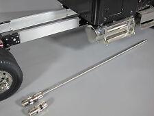 "Aluminum 4 7/8"" Frame Extension and Steel Drive Shaft Tamiya RC 1/14 King Hauler"