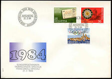 Switzerland 1984 Publicity Issue FDC First Day Cover #C20188