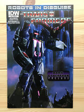 Transformers Robots In Disguise #22 RI Variant IDW 2013 Comic Book Soundwave