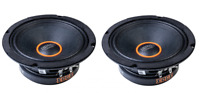 "EDGE Car Audio EDPRO8X 1 Pair 8"" MidBass Midwoofers 150w RMS / 300w Peak 4 ohm"