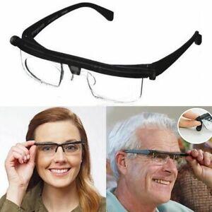 Presbyopic Glasses -3 To +6 Diopters Adjustable Eyeglasses Focus Lens Myopia